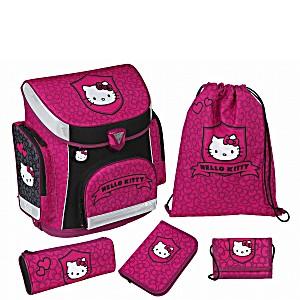 Школьный рюкзак Scooli Hello Kitty с наполнением (5 предметов)