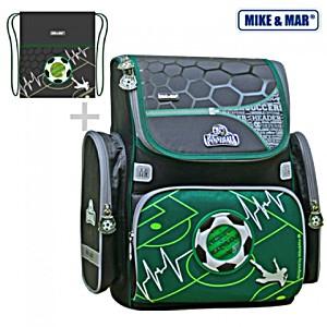 Раскладной ранец Mike Mar Футбол 1074-ММ-141 + мешок для обуви + пенал
