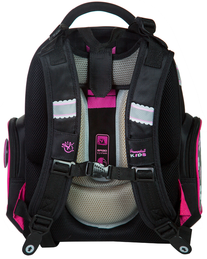 Школьный рюкзак Hummingbird TK38 официальный с мешком для обуви, - фото 3
